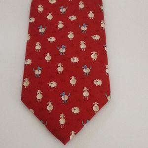Brooks Brothers Gag-Gift Silk Tie